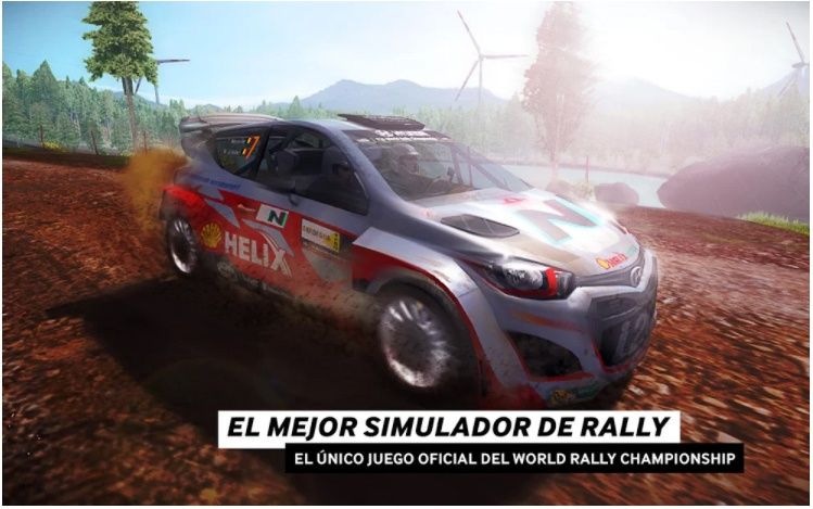 wrc game official rally games