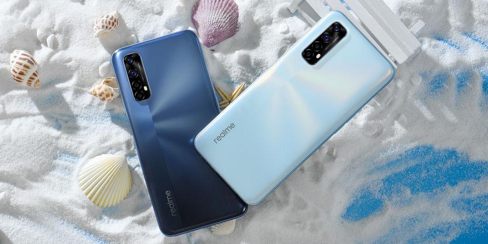 Realme 7 phone colors