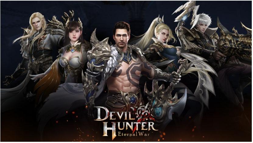 devil hunter hack and slash games