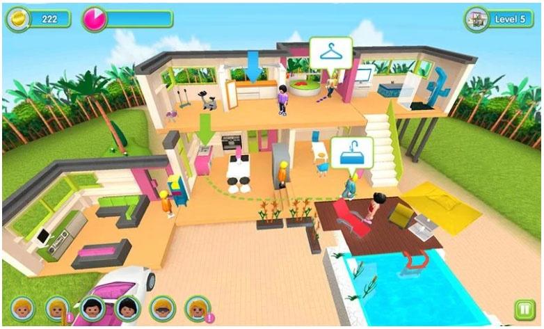playmobil games luxury mansion