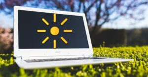 Programs to adjust the brightness of the computer screen in…