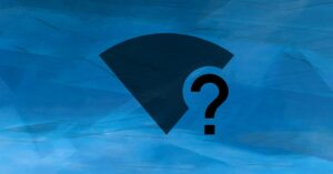 What to do if the Wi-Fi icon does not appear…