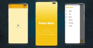 PentaNote free note app review