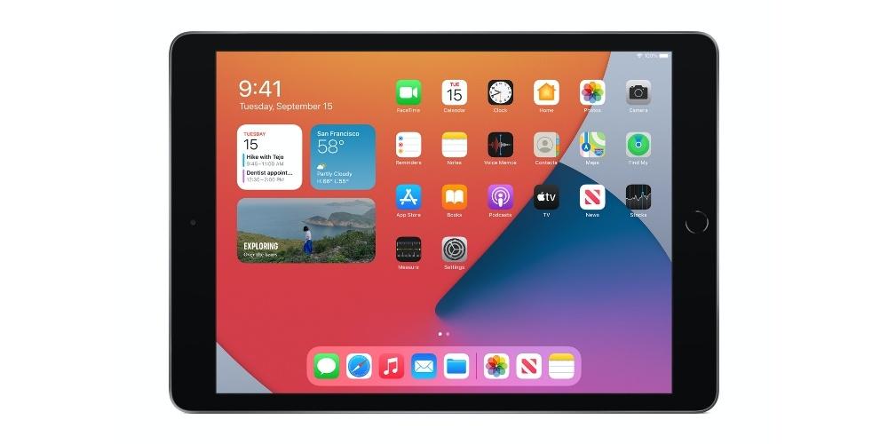 iPadOS 14 on iPad 8 2020