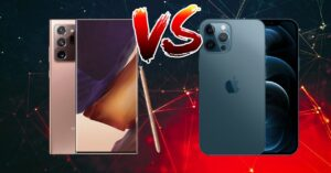 iPhone 12 Pro Max vs Galaxy Note 20 Ultra: technical…