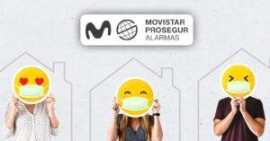 Free Movistar Prosegur Alarms special offer November 2020