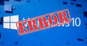Windows 10 crash prevents deleting a 20 GB folder