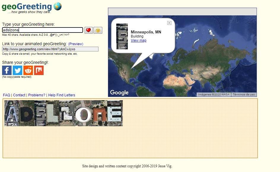 Geo - Weirdest Websites