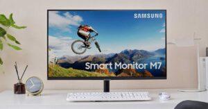 new 32-inch 4K Smart TV monitor