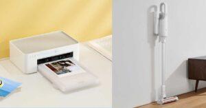 Xiaomi Photo Printer 1S and Mijia Wireless Vacuum Cleaner Lite:…