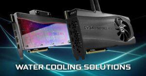 EVGA RTX 3080 HYDRO COPPER, new GPUs with water block