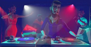 A game to be the best DJ in the world