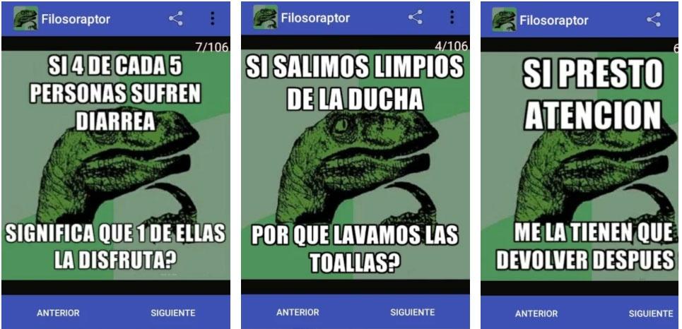 filosoraptor apps jokes