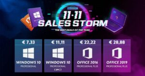 Buy cheap Windows 10 licenses for € 7.33 at GoDeal24