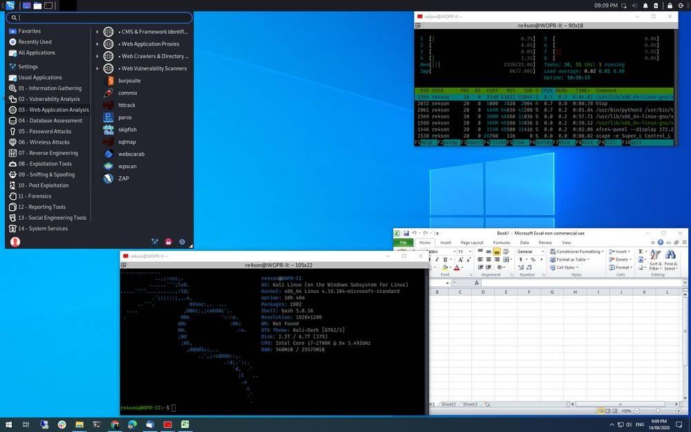 Kali Linux WSL2 Seamless