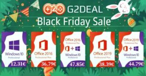Pre Black Friday deals on Windows and Office licenses