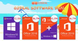 Windows 10 Pro and Office license on sale in November