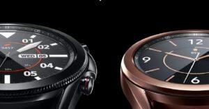 Samsung Galaxy Watch3, a perfect smartwatch for training