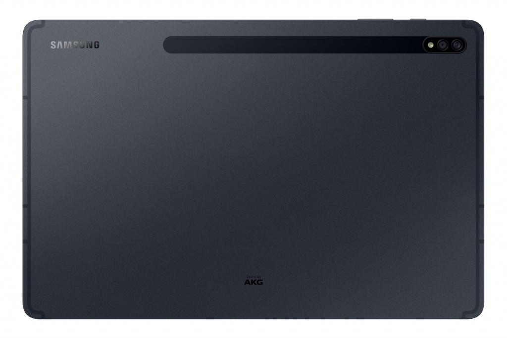 Rear of the Galaxy Tab S7 +