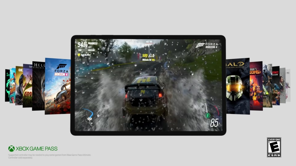 Games on the Galaxy Tab S7 +