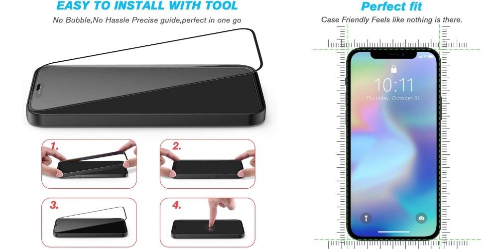 IPhone 9 screen protector