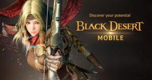 Update in Black Desert Mobile, Field of Valor returns