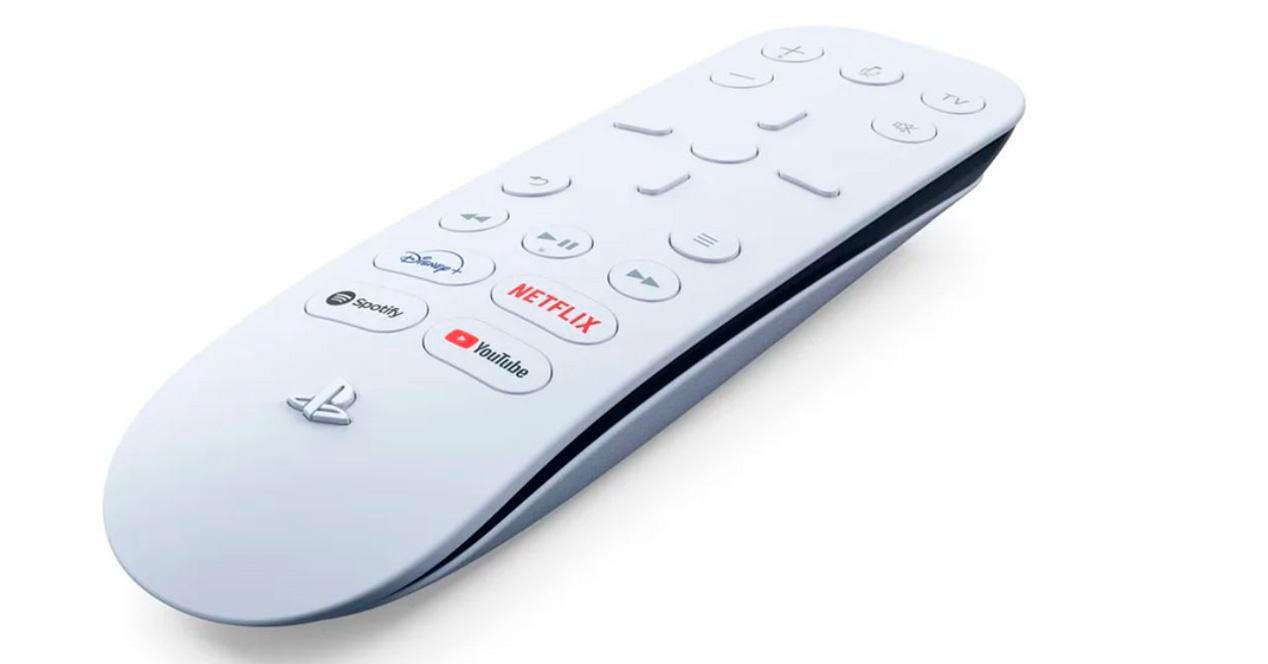 PS5 multimedia controller