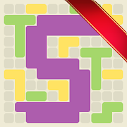 Surface Trimino: increase the area.  Casual game.