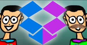 How to use two Dropbox accounts at the same time…