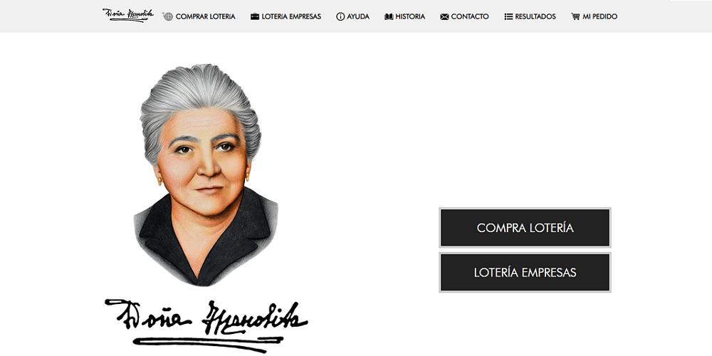 Doña Manolita Web