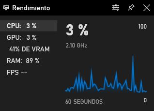 game bar Windows 10 performance