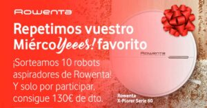 draw 10 free robot vacuum cleaners