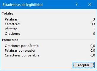 Word readability summary Microsoft Editor