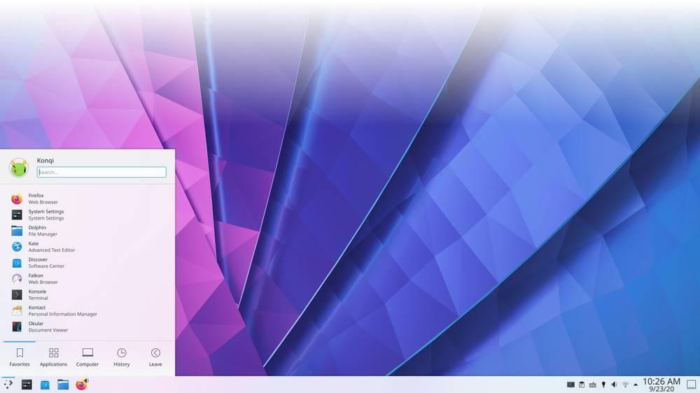KaOS Plasma 5.20