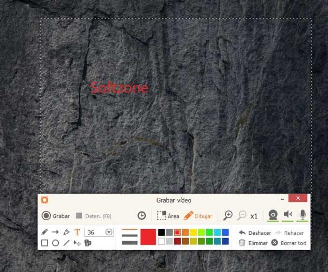 Icecream Screen Recorder video recording