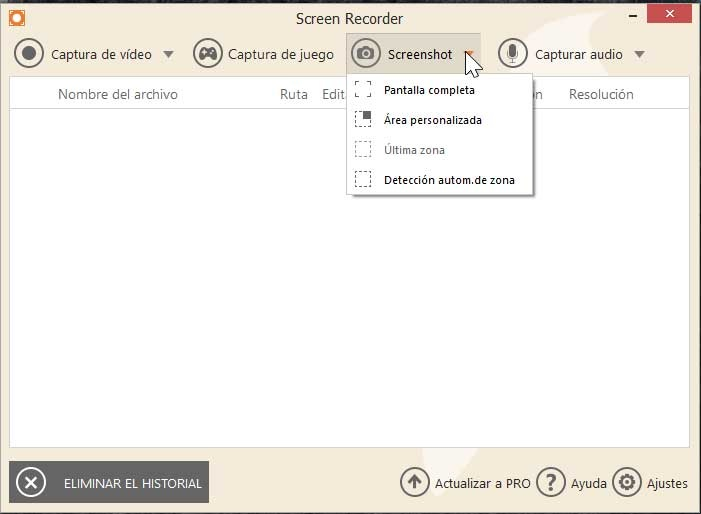 Icecream Screen Recorder, Screenshort