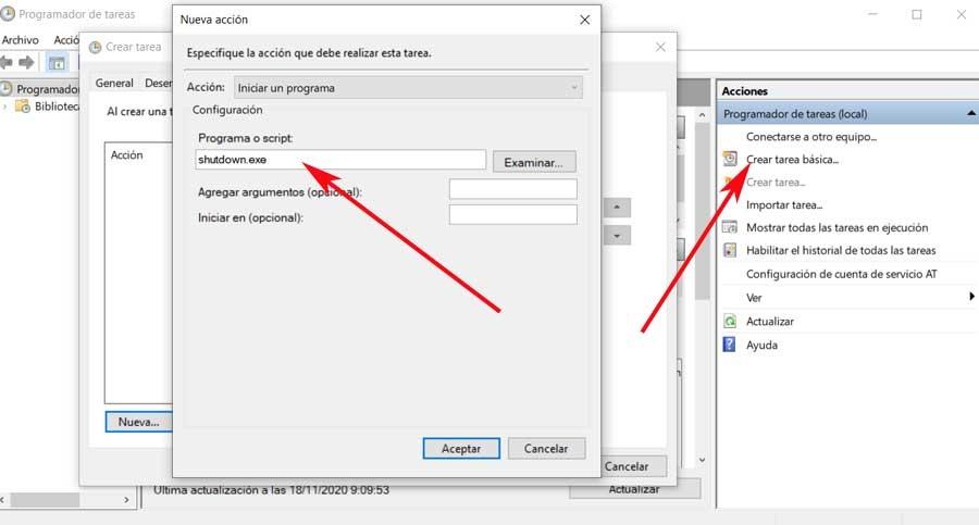 Create Windows Task