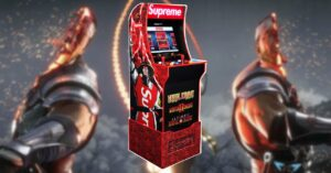 Supreme puts on sale an exclusive Mortal Kombat arcade game