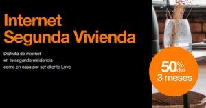 Internet Second Home Orange: December 2020 promotion