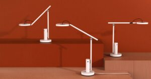 This is the Xiaomi LED desk lamp with security camera
