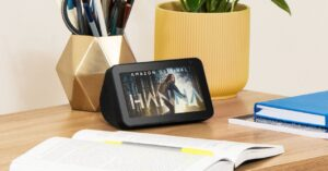 Echo Show 5 smart speaker offer on Amazon: for only…