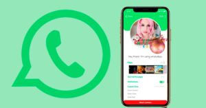 How to decorate your WhatsApp profile photo for Christmas