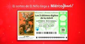 1,000 euros for El Corte Inglés
