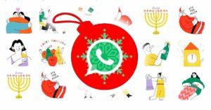 WhatsApp Christmas stickers for Christmas Eve and Christmas 2020