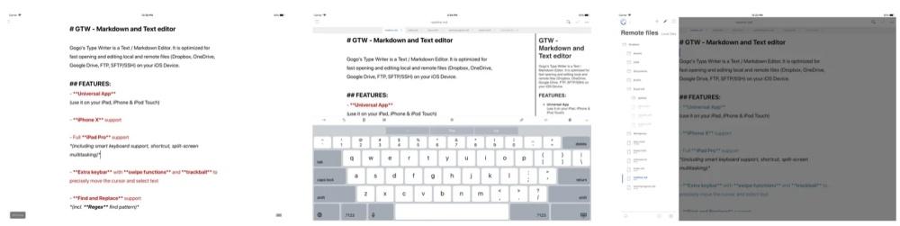 GTW Markdown