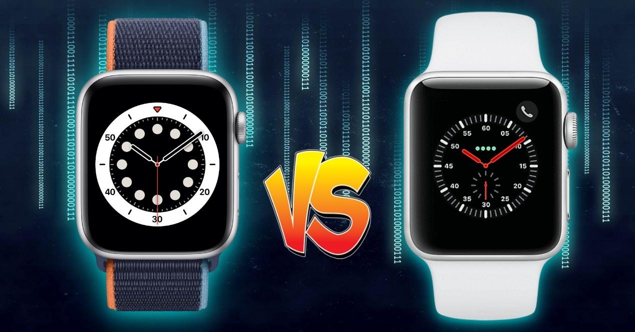 Comparison Apple Watch SE vs Apple Watch Series 3