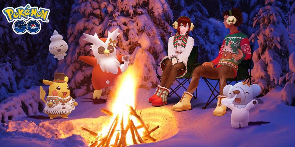 pokémon go winter event