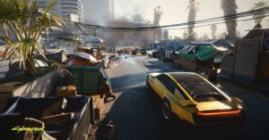 Cyberpunk 2077 – Map Bugs and Errors: Holes and Monorail