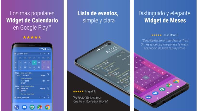 calendar widget apps free week 51