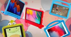 Children's covers to protect the tablet from children